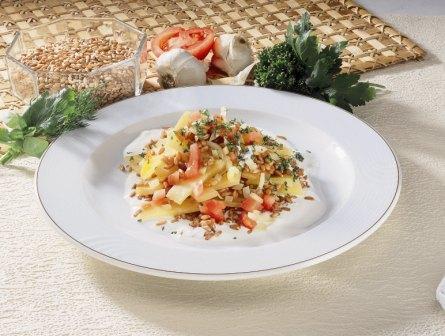 Dinkel-Steckrüben-Gemüse - BCM Diät Rezepte.ch