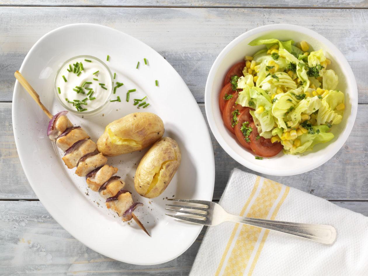 Fleischspieße zum Grillen - BCM Diät Rezepte.ch