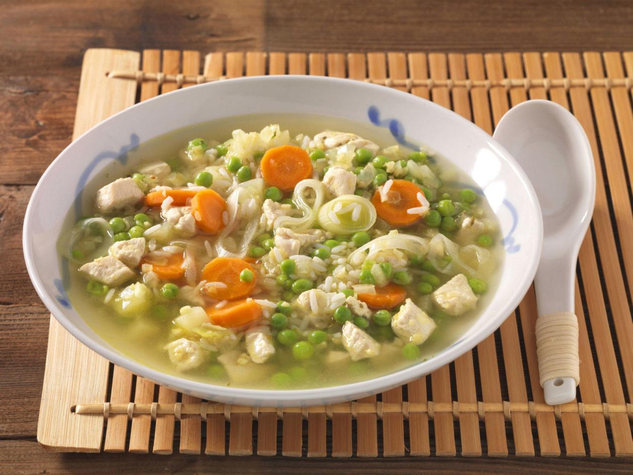 Hühner-Gemüseeintopf - BCM Diät Rezepte.ch