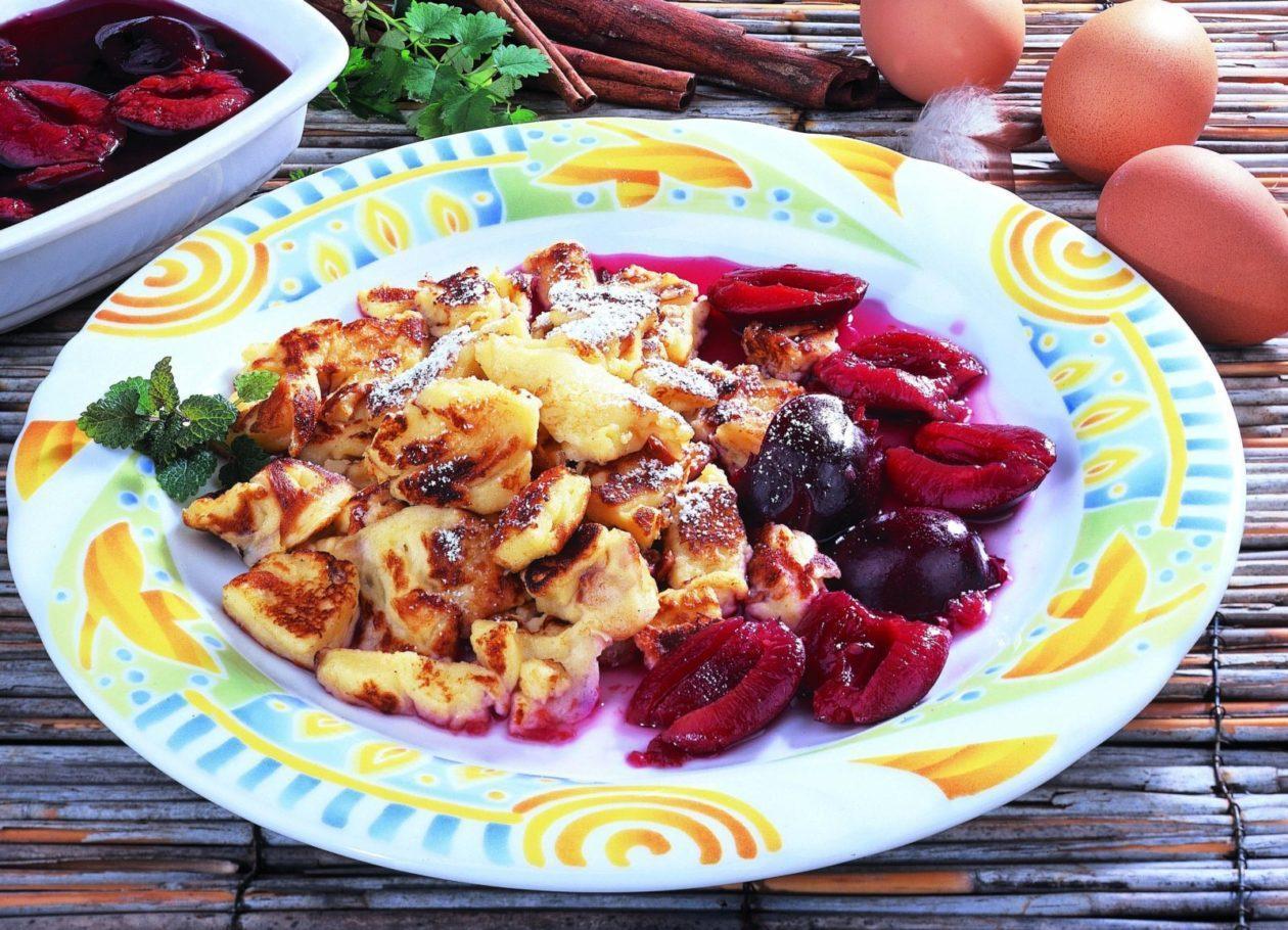 Schmarren mit Zwetschgen - BCM Diät Rezepte.ch