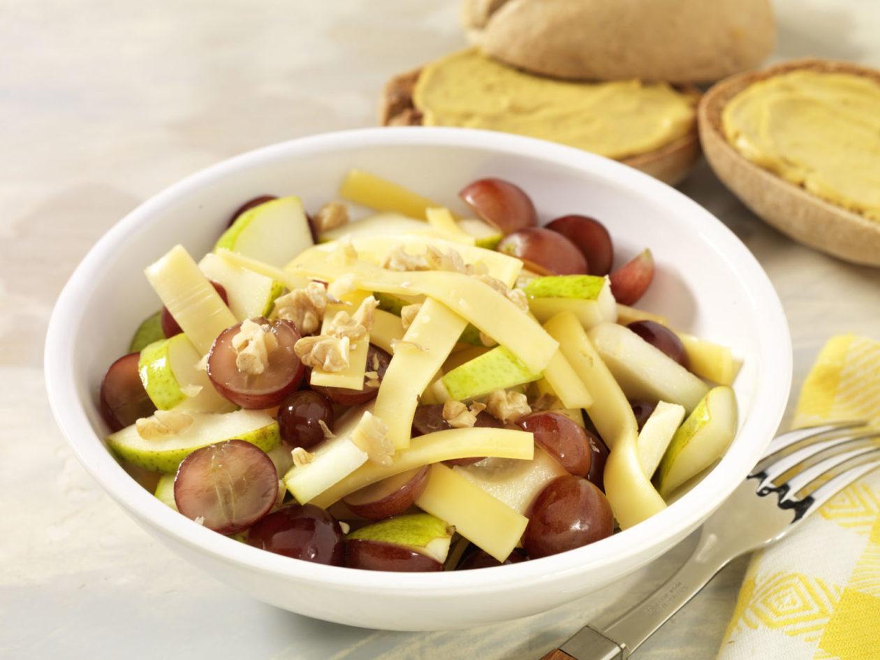 Käse-Obst-Salat - BCM Diät Rezepte.ch