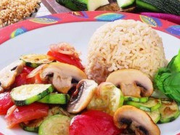 Zucchinigemüse Provencale - BCM Diät Rezepte.ch